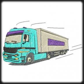 Kamion 1 hímzés