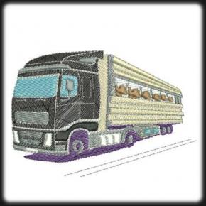 Kamion 2 hímzés