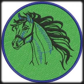 Ló hímzés 1