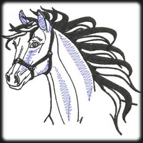 Ló hímzés 2