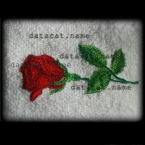 Rózsa hímzés