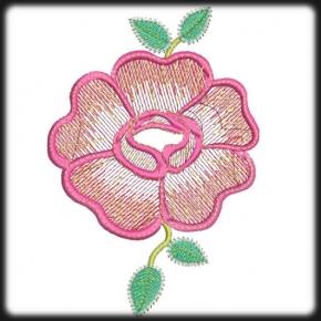 Rózsa hímzés 1