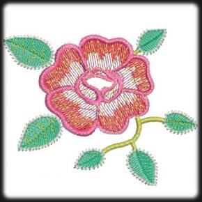 Rózsa hímzés 2